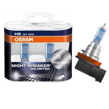 osram h8 night breaker str lkastarlampor sc styling ger. Black Bedroom Furniture Sets. Home Design Ideas