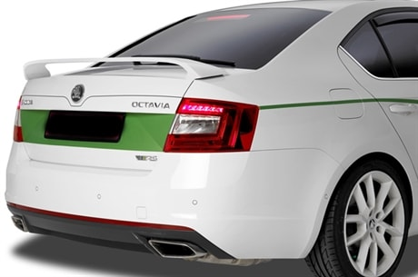 Skoda Superb Facelifting 2018 >> Spoilervinge till Skoda Octavia Kombi 2012-
