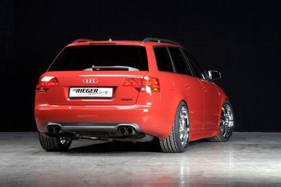 Bakdel nedre Audi A4 B7 Avant + Sedan