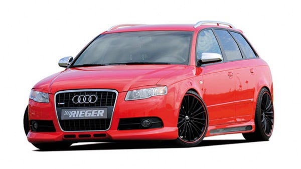 Lower front spoiler Audi A4 S-Line