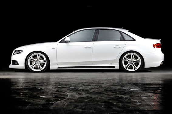 Side skirts Audi A4 B8