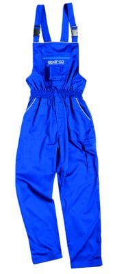 Sparco dungarees blue