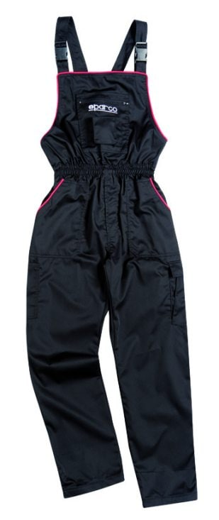 Sparco dungarees black