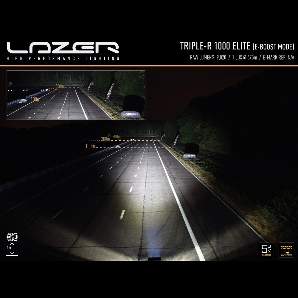 LED-ramp Lazer Triple-R 1000 Elite-3 40cm (Spot)