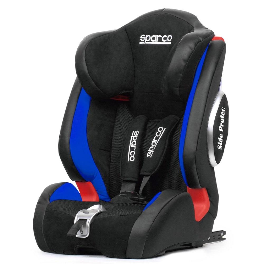 Sparco Barnstol F1000 KI Blå