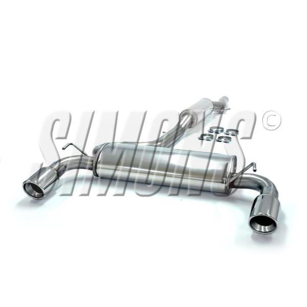Bakre Ljuddämpare till VW Golf IV R32