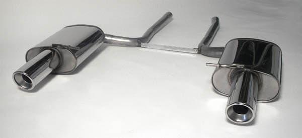 Rear silencer Audi A4 B7 Quattro