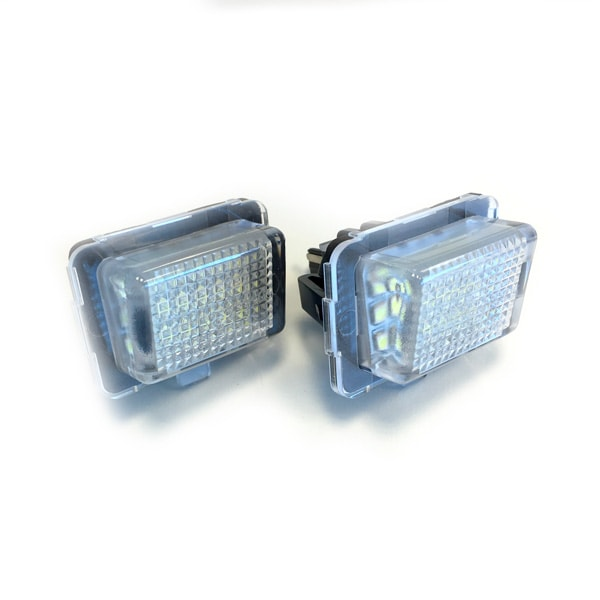 LED number plate lights Mercedes Benz W204, W212, W216, W221