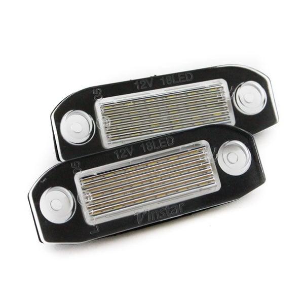 LED numberplate lights Volvo