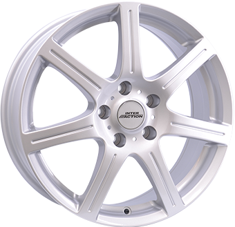 Complete Winter wheel set of Inter Sirius Silver