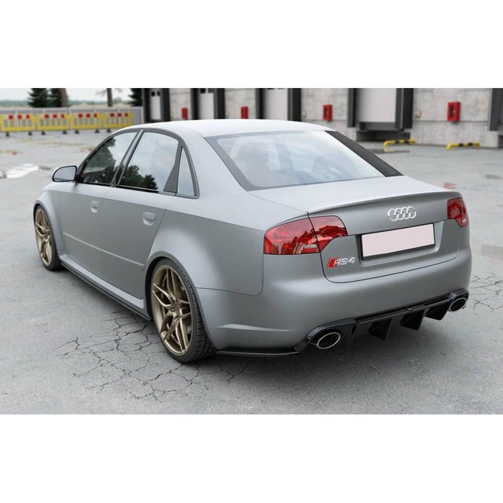 Diffusor (insats för bakstötfångare) Audi RS4