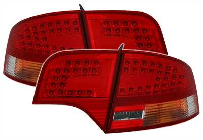 LED rear lamps red Audi A4 B7