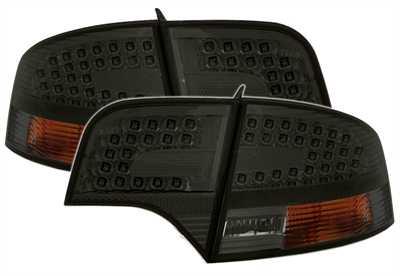 LED rear lamps dark tinted Audi A4 B7