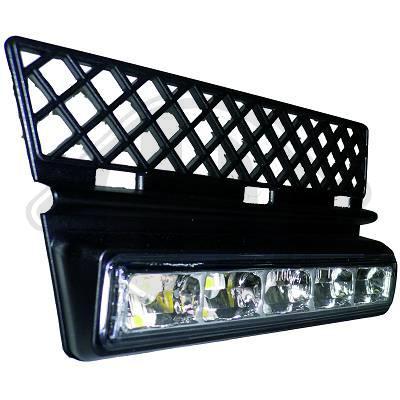 LED fog light housings with DRL lights Audi A4