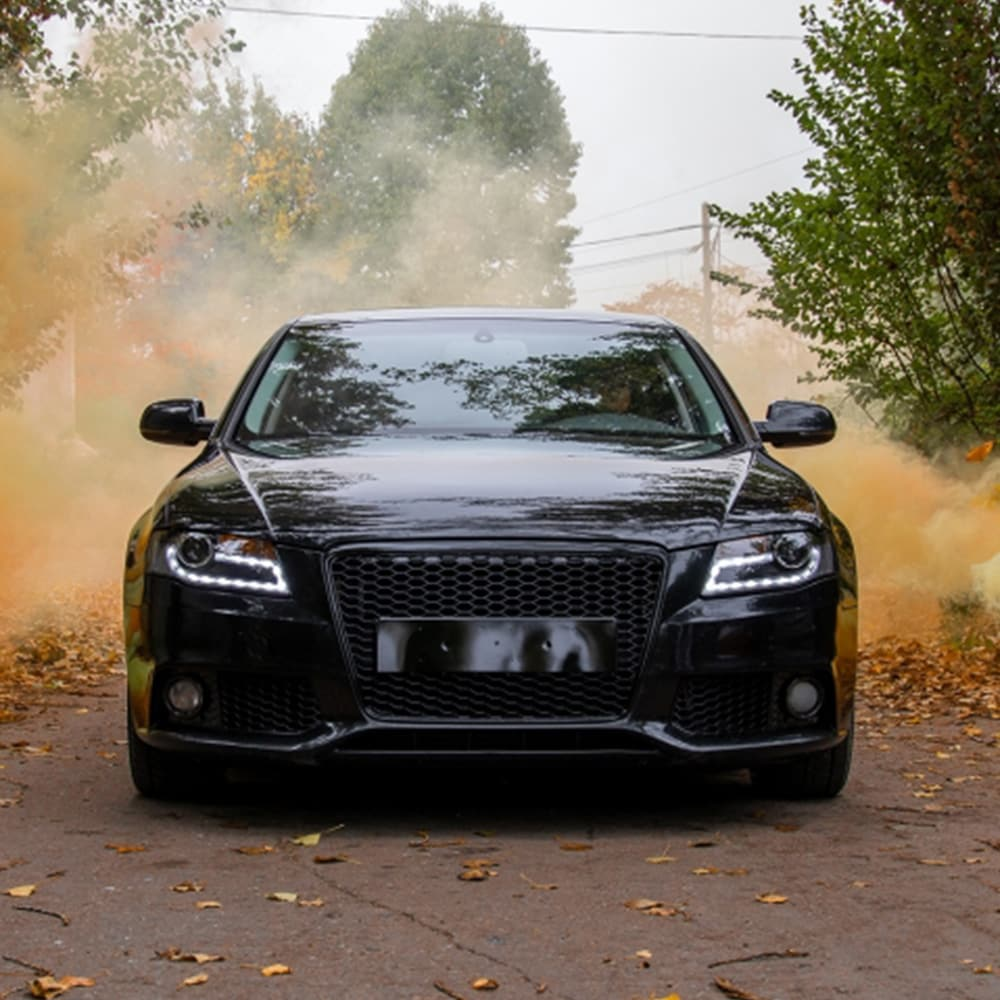 Audi A4 B8 Honeycomb look grille black