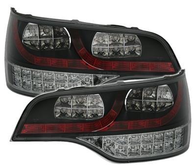 LED rear lamps black Audi Q7