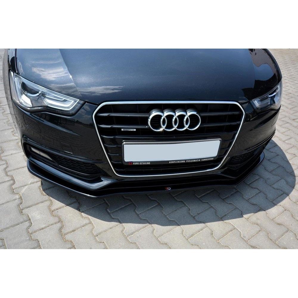 Blanksvart Cupspoiler Fram Audi A5/S5