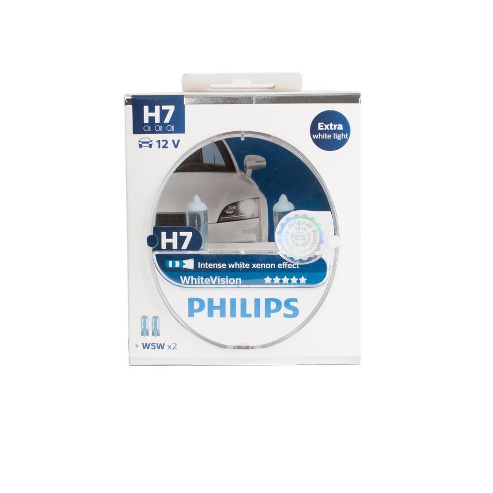 H7 Philips White Vision Intense Xenon