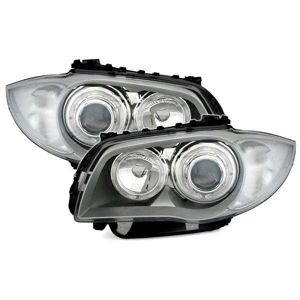 Angel eyes head lamps BMW