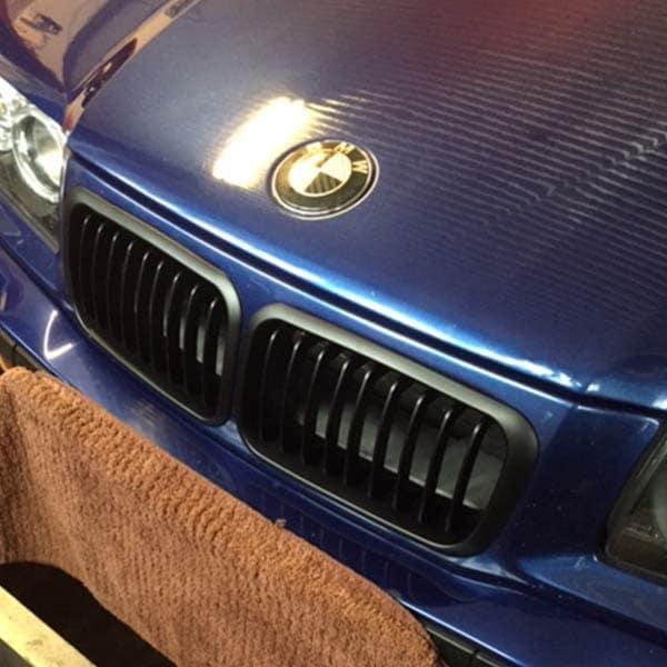 Svart grill till BMW E36