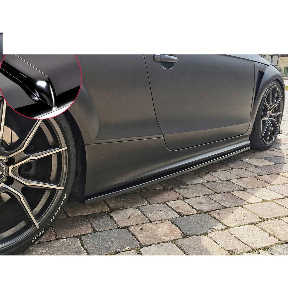 Diffusorläpp för sidokjolar BMW E46 Sedan/Touing