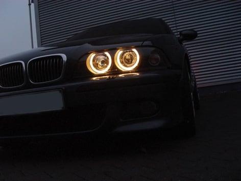 Styling strålkastare krom BMW E39
