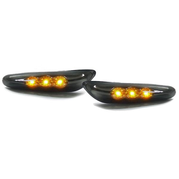 LED Skärmblinkers Svart