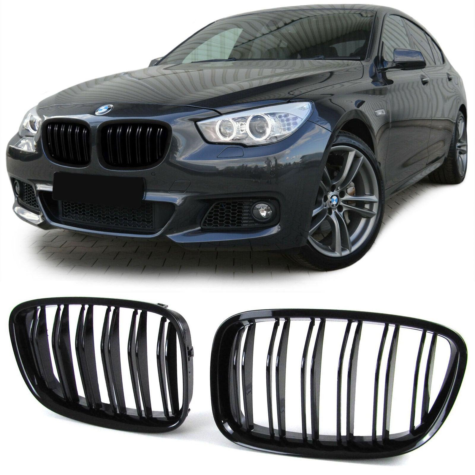 Blanksvarta dubbelribbade sport njurar BMW 5-serie GT