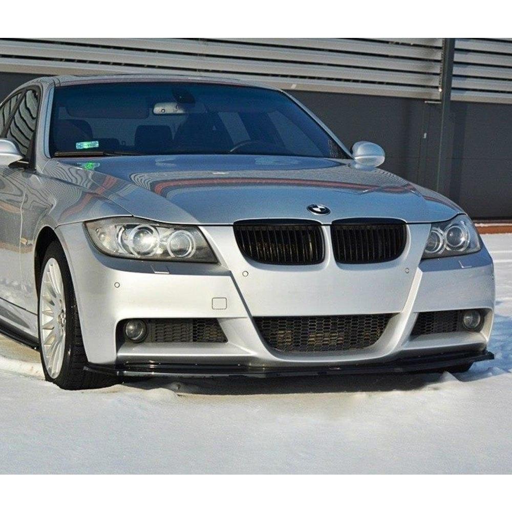 Blanksvart Cupspoiler Fram BMW E90