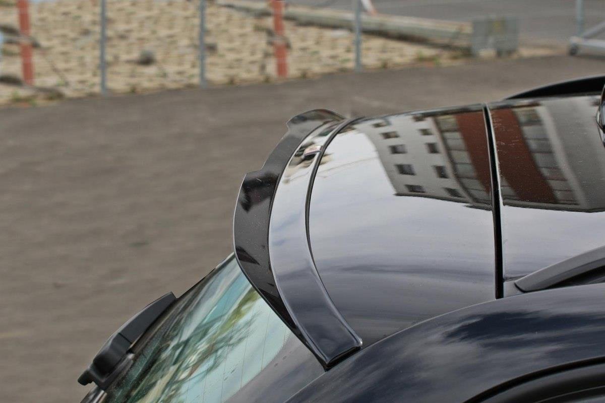 Blanksvart takspoiler BMW E91