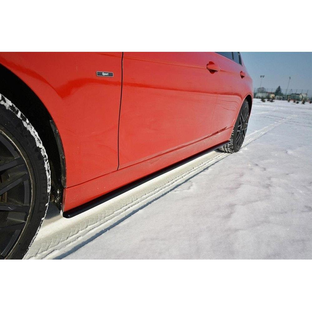 Addon splitter sidokjolarna BMW F30/F31