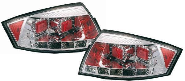 Rear lamps Chrome LED Audi TT