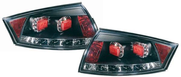 Rear lamps smoke LED Audi TT