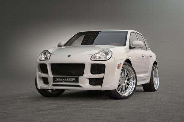 Kjolpaket Widebody Porsche Cayenne