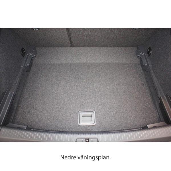 Bagagerumsmatta Volkswagen Golf VII