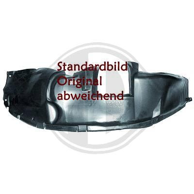 Innerfender Right Audi A4 B7