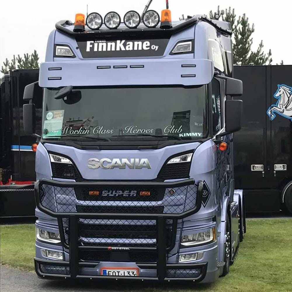 Frontskydd passande Scania Nextgen 2017->