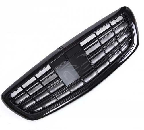 Styling grill blanksvart Mercedes W222 S-klass
