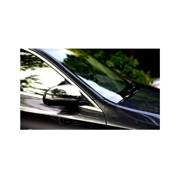 Kromade spegelkåpor Mercedes W222 S-klass