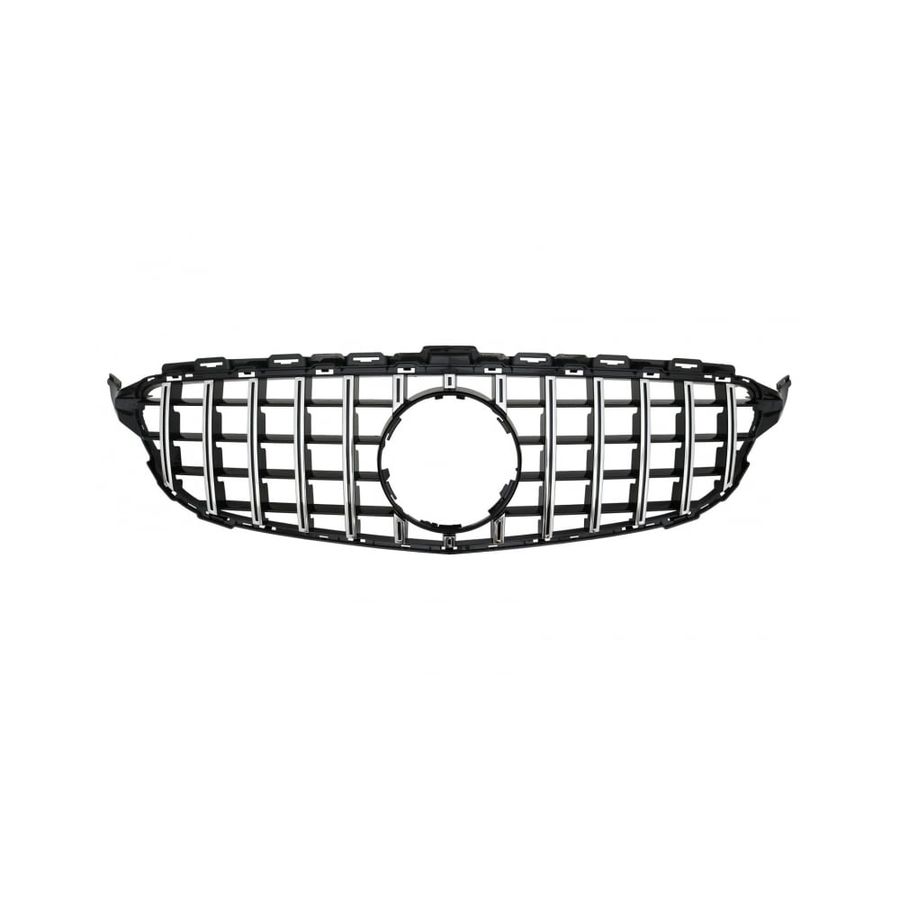 Black /Chrome  Styling grill  GT-R AMG-look Mercedes C-klass W205/S205