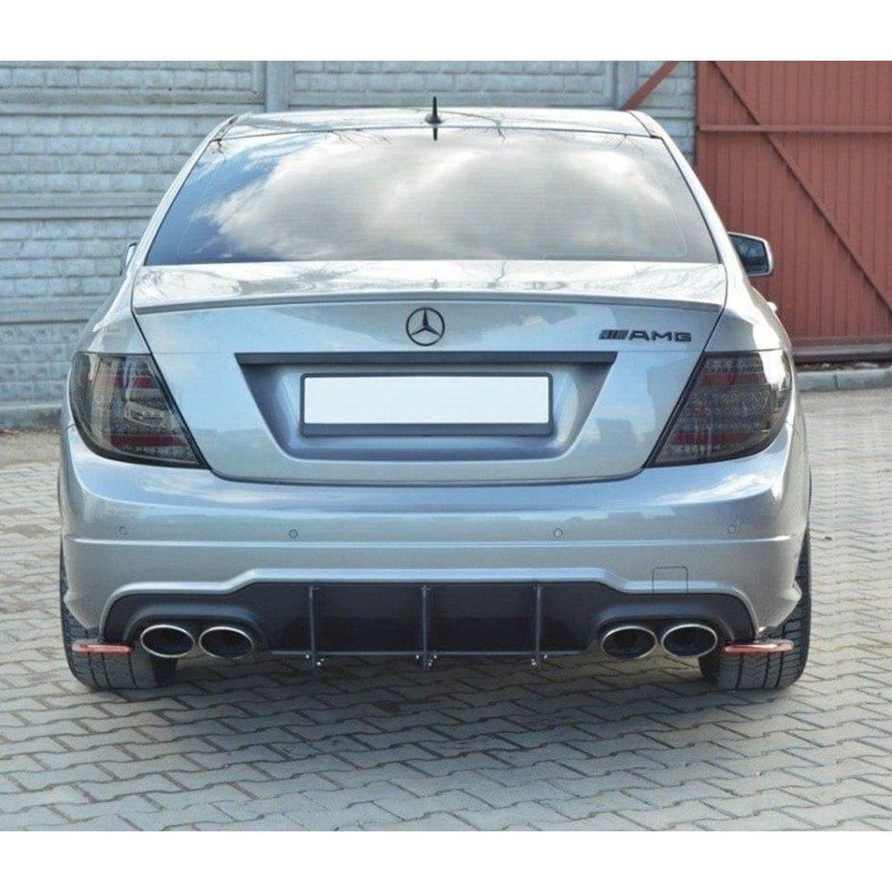 Diffusor (insats för bakstötfångare) Mercedes C-klass W204 AMG-line