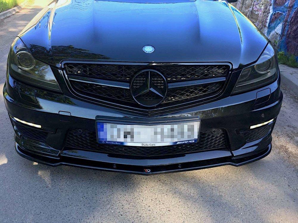 Frontsplitter till Mercedes W204 AMG C63