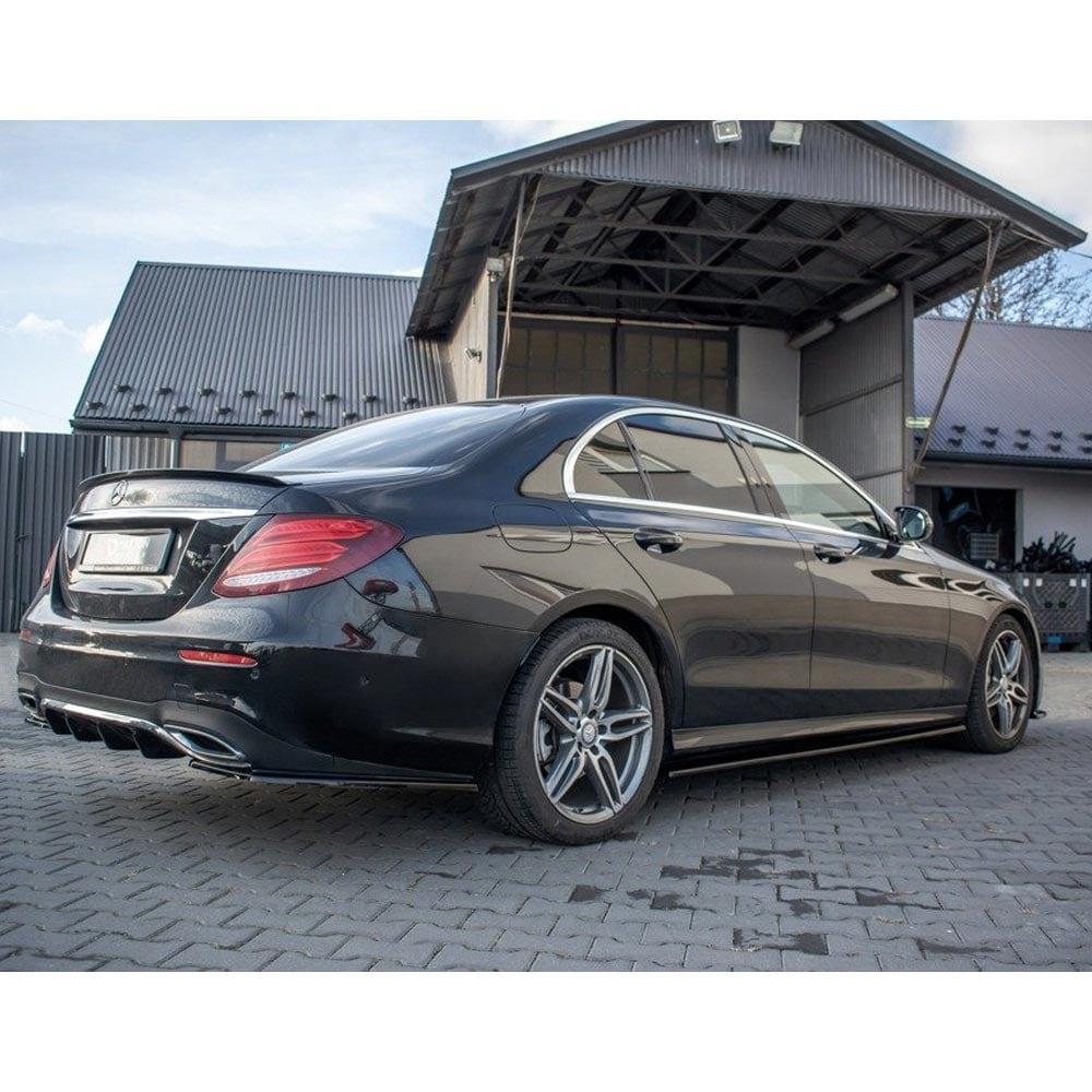 Addon splitter sidokjolarna Mercedes W213 E43 AMG / AMG-line