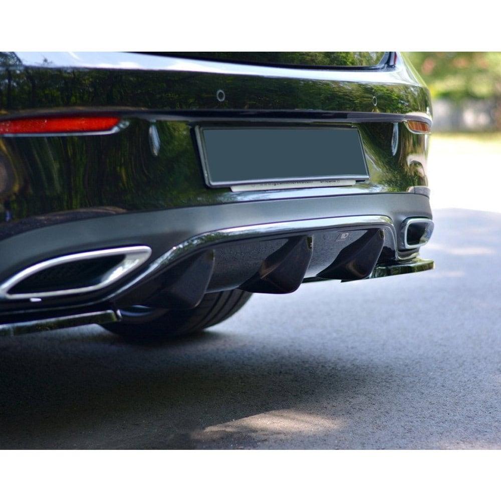 Diffusor (insats för bakstötfångare) Mercedes W213 Coupé  AMG-line