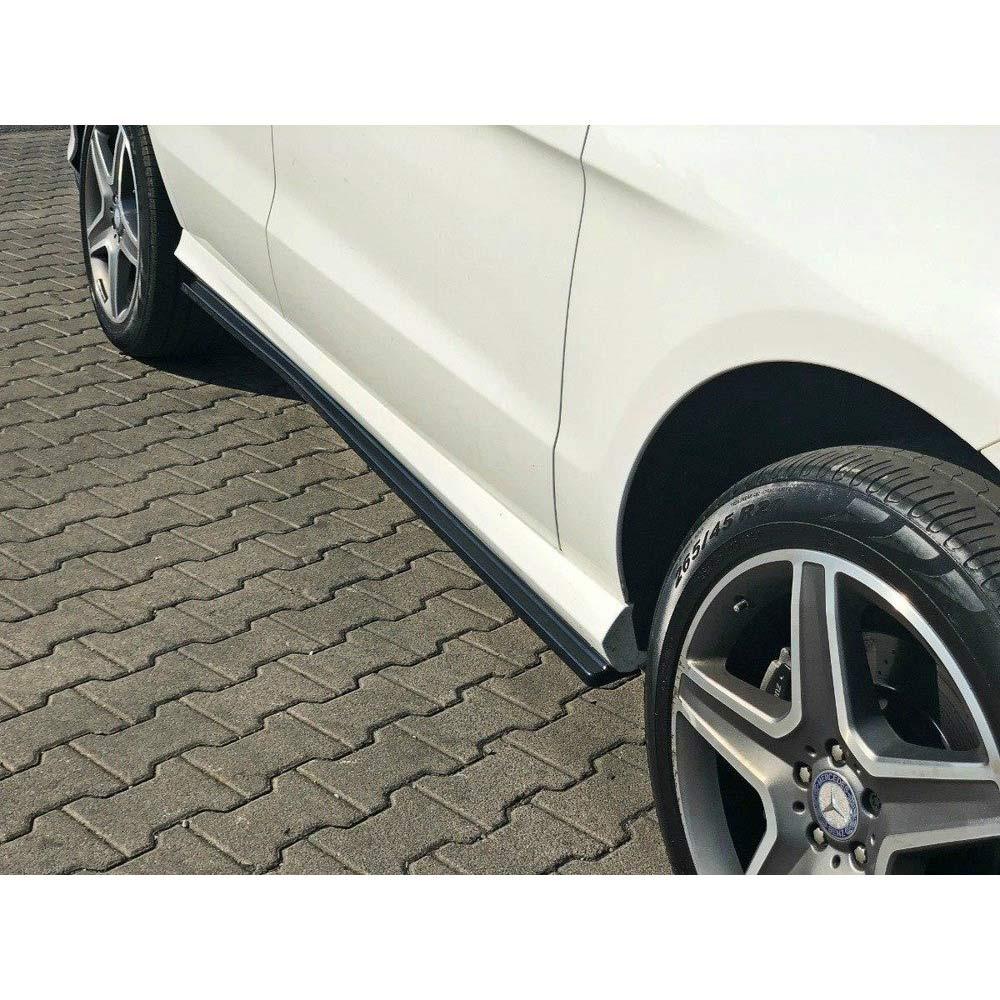 Addon splitter sidokjolarna Mercedes GLE W166 AMG-Line