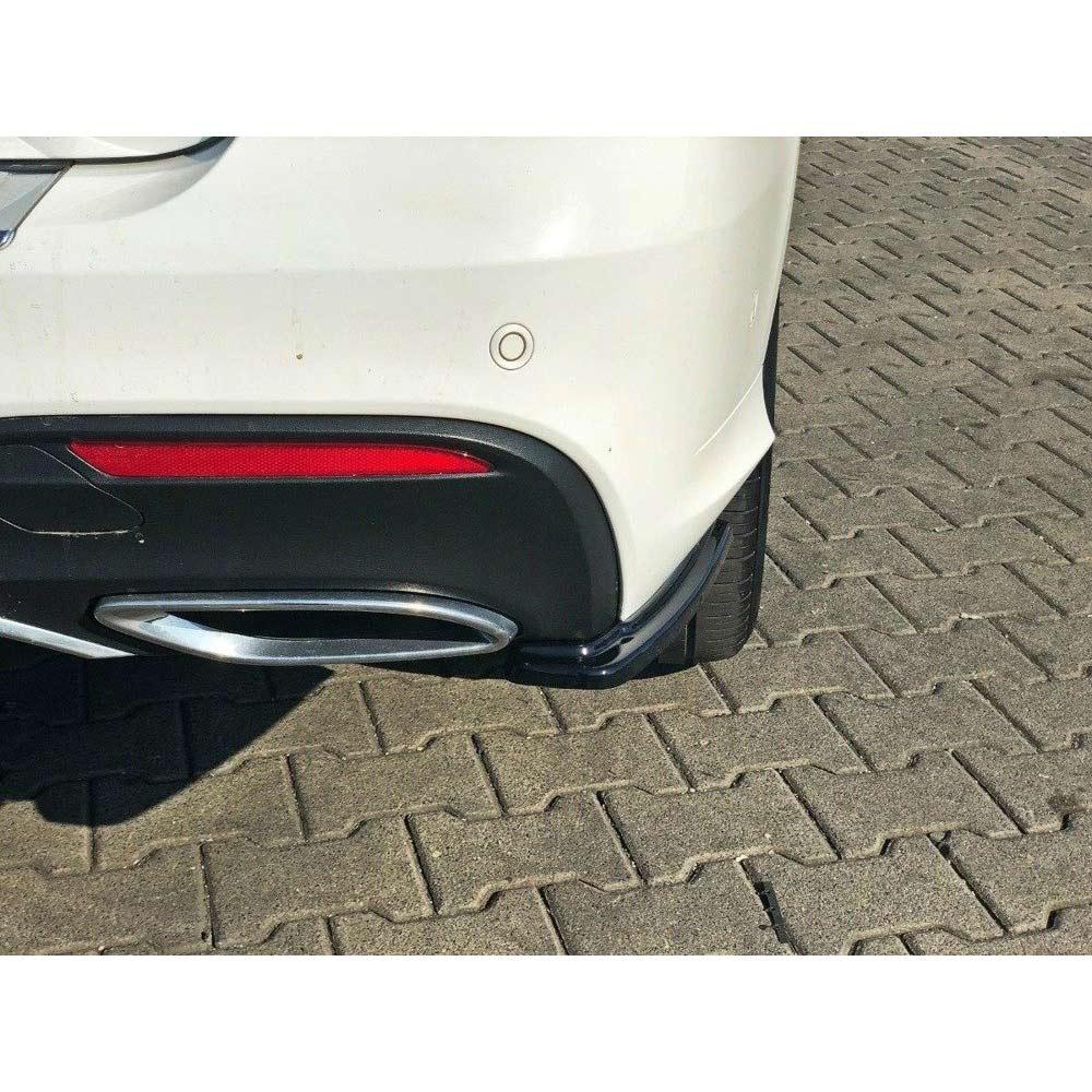 Bakre diffusorinsatser Mercedes GLE W166 AMG-Line