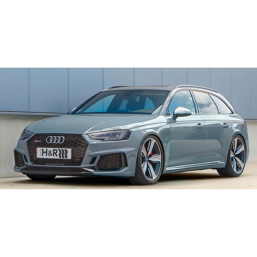 H&R HVF Justerbar Sänkningssats Audi RS4 B9 Avant
