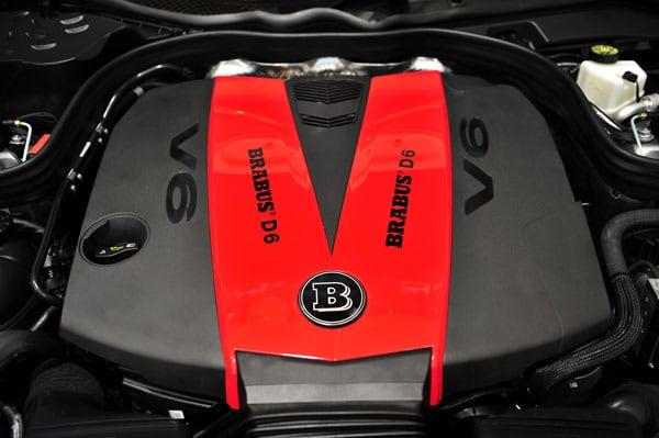 Brabus engine upgrade Power Xtra D6S 258Hkr G350Cdi Bluetec