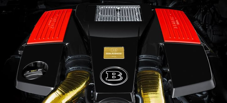 Brabus engine upgrade B800 800Hkr based on G65