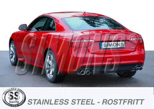 Avgassystem Audi A4/A5 B8
